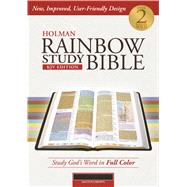 Holman Rainbow Study Bible: KJV Edition, Brown LeatherTouch by Holman Bible Staff, 9781586409111