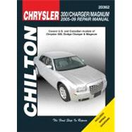 Chilton Chrysler 300, Charger/ Magnum Repair Manual 2005 - 2009: Covers U.s. And Canadian Models Of Chrysler 300, 2005 Through 2009, Dodge Charger, 2006 Through