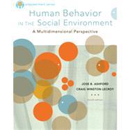 Brooks/Cole Empowerment Series: Human Behavior in the Social Environment by Ashford, Jose B.; LeCroy, Craig Winston, 9780840029119