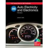Auto Electricity and Electronics: Textbook W/ Job Sheets on Cd by Duffy, James E., 9781590709122