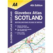 AA Glovebox Atlas Scotland by Automobile Association (Great Britain), 9780749579128