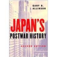 Japan's Postwar History by Allinson, Gary D., 9780801489129