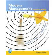 Modern Management Concepts and Skills by Certo, Samuel C.; Certo, S. Trevis, 9780134729138