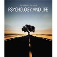 Psychology and Life by Gerrig, Richard J., 9780205859139