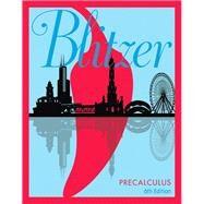 Precalculus by Blitzer, Robert F., 9780134469140