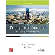 Principles of Auditing & Other Assurance Services by Whittington, Ray; Pany, Kurt, 9780077729141
