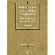 International Litigation And Arbitration by Lowenfeld, Andreas F., 9780314159144