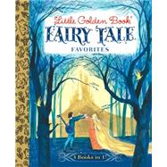 Little Golden Book Fairy Tale Favorites: The Blue Book of Fairy Tales by Laite, Gordon, 9780385379144