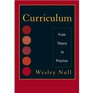 Curriculum by Null, Wesley, 9781442209152