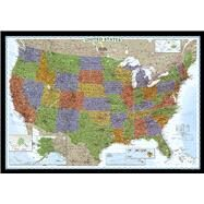 United States Decorator by National Geographic Maps, 9780792239154
