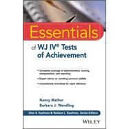 Essentials of Wj IV Tests of Achievement by Mather, Nancy, 9781118799154