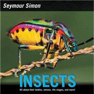 Insects by Simon, Seymour, 9780062289155
