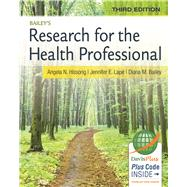 Bailey's Research for the Health Professional by Hissong, Angela N., 9780803639164