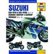 Suzuki Gsx-r750 & Gsx-rr1100 85 to 92 by Editors of Haynes Manuals, 9780857339164