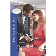 The Boss's Marriage Plan by Wilkins, Gina, 9780373659166
