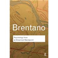 Psychology from an Empirical Standpoint by Brentano,Franz, 9781138019171
