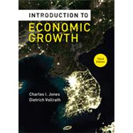 Introduction to Economic Growth (Third Edition) by JONES,CHARLES I., 9780393919172