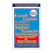 Merriam-Webster's French-English Dictionary by Merriam-Webster, 9780877799177