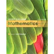 Basic College Mathematics by Bittinger, Marvin L., 9780321599193
