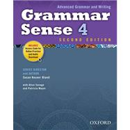 Grammar Sense 4 Student Book with Online Practice Access Code Card by , 9780194489195