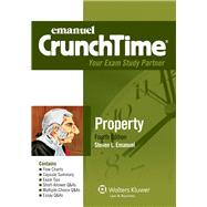 Emanuel CrunchTime for Property by Emanuel, Steven L., 9781454809197