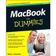 MacBook for Dummies by Chambers, Mark L., 9781118209202