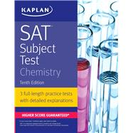 Sat Subject Test Chemistry by Kaplan, 9781506209203