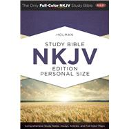 Holman Study Bible: NKJV Edition, Personal Size Hardcover by Unknown, 9781586409203