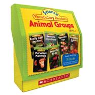 Science Vocabulary Readers Set: Animal Groups Exciting Nonfiction Books That Build Kids? Vocabularies Includes 36 Books (Six copies of six 16-page titles) Plus a Complete Teaching Guide Book Topics: Mammals, Birds, Reptiles, Amphibians, Fish, Insects by Charlesworth, Liza, 9780545149204