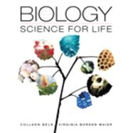 Biology Science for Life plus Mastering Biology with eText -- Access Card Package by Belk, Colleen; Maier, Virginia Borden, 9780133889208