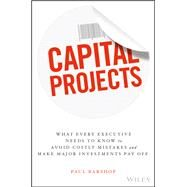 Capital Projects by Barshop, Paul, 9781119119210