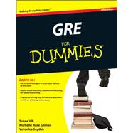 Gre for Dummies by Woldoff, Ron; Kraynak, Joe, 9780470889213