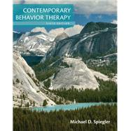 Contemporary Behavior Therapy by Spiegler, Michael D.; Guevremont, David C., 9781305269217