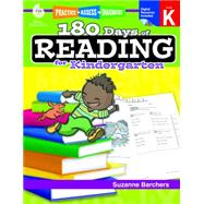 180 Days of Reading for Kindergarten by Barchers, Suzanne, 9781425809218