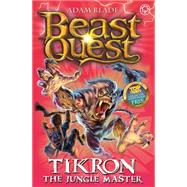 Beast Quest: 81: Tikron the Jungle Master by Blade, Adam, 9781408329221