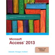 New Perspectives on Microsoft Access 2013, Brief by Adamski, Joseph J.; Finnegan, Kathy T.; Scollard, Sharon, 9781285099224