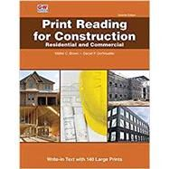 Print Reading for Construction by Brown, Walter C.; Dorfmueller, Daniel P., 9781631269226