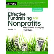 Effective Fundraising for Nonprofits: Real-world Strategies That Work by Bray, Ilona, 9781413319231