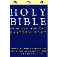 Holy Bible by Lamsa, George Mamishisho, 9780060649234