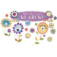 You-nique When We Learn, We Grow! Bulletin Board Set by Carson-Dellosa Publishing Company, Inc., 9781483829234