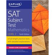 Kaplan SAT Subject Test Mathematics Level 2 by Unknown, 9781506209234