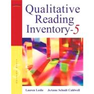 Qualitative Reading Inventory by Leslie, Lauren; Caldwell, JoAnne Schudt, 9780137019236