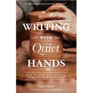Writing With Quiet Hands by Munier, Paula, 9781599639239