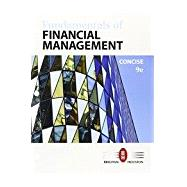 Bundle: Fundamentals of Financial Management, Concise Edition, Loose-leaf Version, 9th + Aplia, 1 term Printed Access Card by Brigham, Eugene F.; Houston, Joel F., 9781337089241