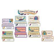 You-nique Figurative Language Mini Bulletin Board Set by Carson-Dellosa Publishing Company, Inc., 9781483829241