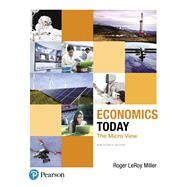 Economics Today The Micro View by Miller, Roger LeRoy, 9780134479255