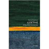 Goethe: A Very Short Introduction by Robertson, Ritchie, 9780199689255