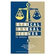 Ethical and Legal Issues in School Counseling by Hermann, Mary, 9781929289257