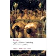 Agricola and Germany by Tacitus; Anthony Birley, 9780199539260