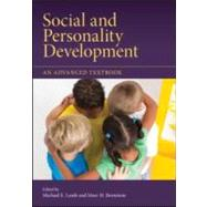 Social and Personality Development : An Advanced Textbook by Lamb; Michael E., 9781848729261